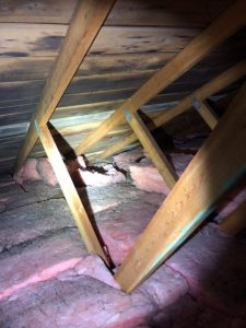 vancouver janzen home inspections attic inspection